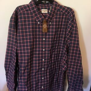 Men's Dockers Dress Shirt Long Sleeve